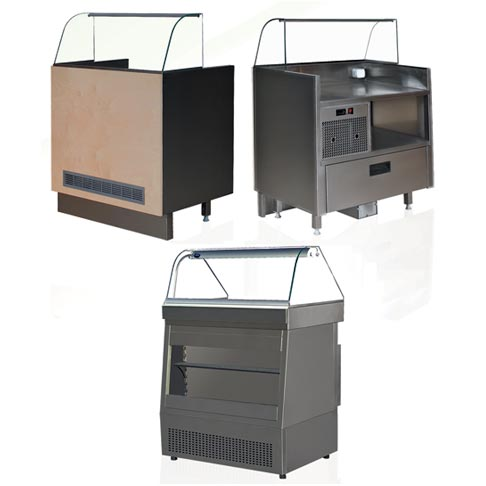 hotdog counter