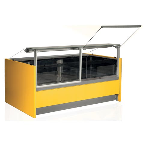 olimpia serve over chilled food and beverage counter