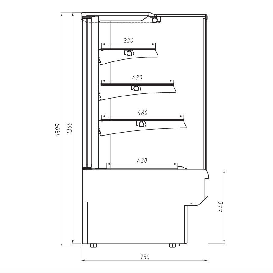 genoa flat technical drawing